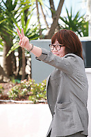 Director Shin Su-Won at the Madonna film photo call at the 68th Cannes Film Festival Tuesday May 20th 2015, Cannes, France.