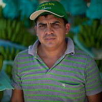 Zapateri Paul, manager of a banana processing plant at Fairtrade-certified banana producers APPBOSA in Samán, Marcavelica, Piura, Peru.