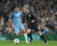 Gary Mackay-Steven of Celtic during the Champions League Group C match at the Etihad Stadium, Manchester. Picture date: December 6th, 2016. Pic Simon Bellis/Sportimage