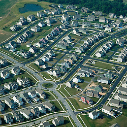 Aerial view of Middletown Delaware<br /> RONE VIEW OF HOUSES