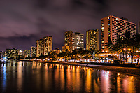 Waikiki Skyline @ Night