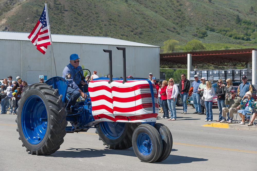 Annual May Festival Parade, Oroville, Washington, USA