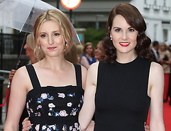 Laura Carmichael, Michelle Dockery, BAFTA Celebrates Downton Abbey, Richmond Theatre, London UK, 11 August 2015, Photo by Richard Goldschmidt /LNP © London News Pictures.