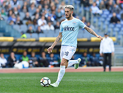 March 31, 2018 - Rome, Lazio, Italy - Luis Alberto during the Italian Serie A football match between S.S. Lazio and Benevento at the Olympic Stadium in Rome, on march 31, 2018. (Credit Image: © Silvia Lore/NurPhoto via ZUMA Press)