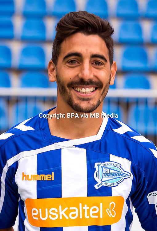 Spain - La Liga Adelante 2015-2016 / <br /> ( Deportivo Alaves ) - <br /> Javier Carpio Martin