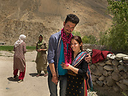Two friends.<br /> Life in Chipursan valley. It is the most Northwestern part of Pakistan, bordering Afghanistan and China. The people speak the Wakhi Language and belong to the Ismaili sect of Islam.