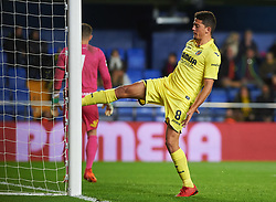 November 30, 2017 - Vila-Real, Castellon, Spain - Pablo Fornals of Villarreal CF reacts during the Copa del Rey, Round of 32, Second Leg match between Villarreal CF and SD Ponferradina at Estadio de la Ceramica on november 30, 2017 in Vila-real, Spain. (Credit Image: © Maria Jose Segovia/NurPhoto via ZUMA Press)