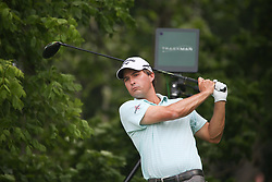 May 23, 2019 - Forth Worth, TX, U.S. - FORTH WORTH, TX - MAY 23: Kevin Kisner hits from the 6th tee during the first round of the Charles Schwab Challenge on May 23, 2019 at Colonial Country Club in Fort Worth, TX. (Photo by George Walker/Icon Sportswire) (Credit Image: © George Walker/Icon SMI via ZUMA Press)