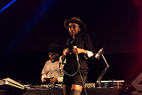 Soul II Soul live at  KNEBWORTH Pub in the park Drive in  Garden Party photo by Mark Anton Smith