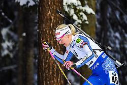 March 8, 2019 - –Stersund, Sweden - 190308 Kaisa Mäkäräinen of Finland competes in the Women's 7.5 KM sprint during the IBU World Championships Biathlon on March 8, 2019 in Östersund..Photo: Johan Axelsson / BILDBYRÃ…N / Cop 245 (Credit Image: © Johan Axelsson/Bildbyran via ZUMA Press)