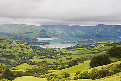 November 13, 2012 - Akaroa, South Island, New Zealland - Akaroa Peninsula; Christchurch, New Zealand (Credit Image: © Stuart Corlett/Design Pics via ZUMA Wire)
