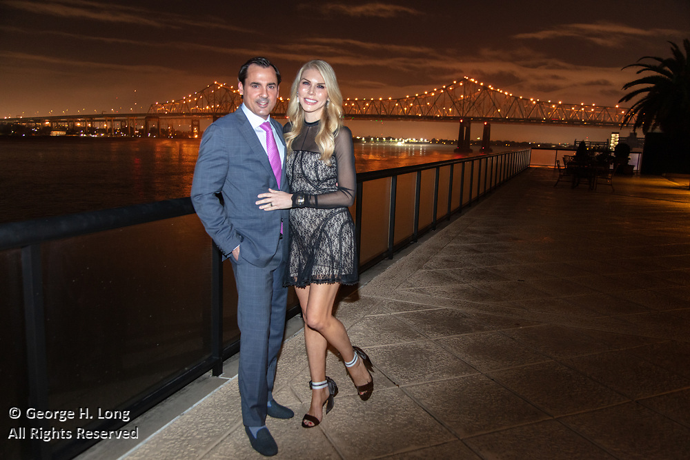 The engagement of Lindsey Love and Jason Gill at One River Place in New Orleans on December 13, 2019
