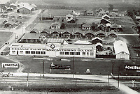 1913 Aerial of Essanay Film Manufacturing Co. in Niles, CA