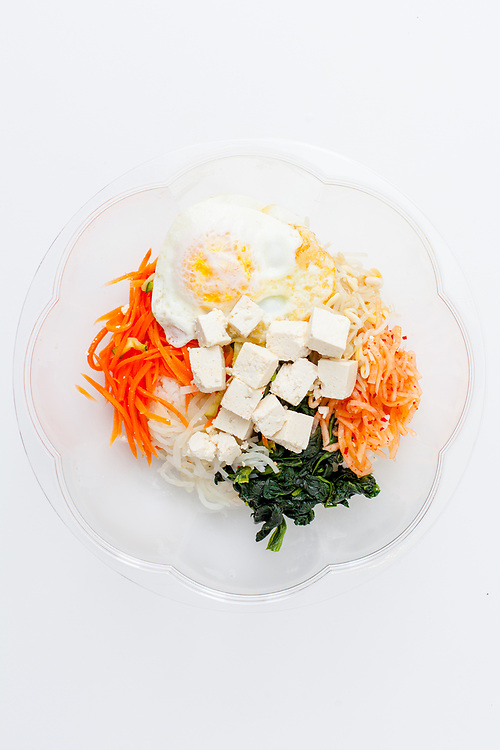 Tofu Bibimbap from Cafe Mana ($10.83)