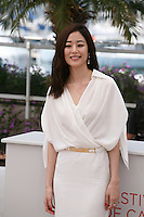 Kim Hyo-jin at The Taste of Money photocall at the 65th Cannes Film Festival France. Saturday 26th May 2012 in Cannes Film Festival, France.