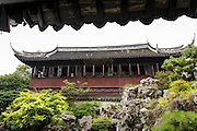 Yuhua Hall in Yu Yuan Gardens Shanghai, China