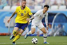 Sweden v South Korea 18 June 2018