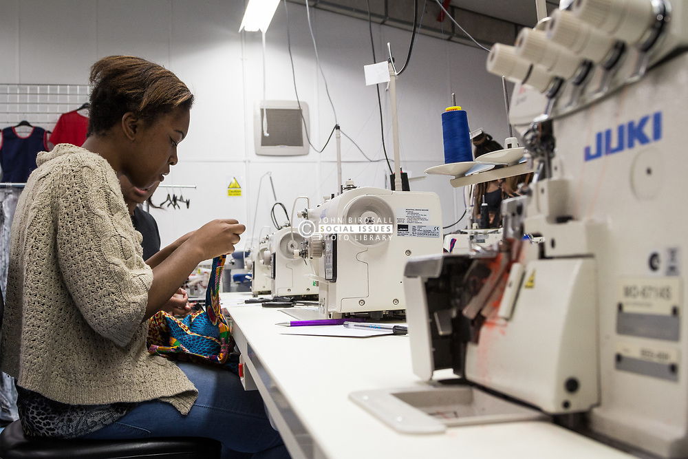 The Stitching Academy, created in collaboration with Asos.com, DWP and Haringey Council to offer ABC accredited stitching skills qualification at both Level 1 and 2. London Borough of Haringey, UK 2014