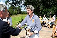 ARNHEM - Op de golfbaan de Rosendaelsche in Arnhem hebben Bart Nolte  en Tita McCart (foto) het Internationaal Senioren Strokeplay Kampioenschap gewonnen. FOTO KOEN SUYK