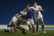 Athony Meric during the 2015 Under 20s 6 Nations match between England and France at the American Express Community Stadium, Brighton and Hove, England on 20 March 2015.