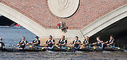"Cambridge. Mass, USA. GV. General View. Senior Master Men's Eights 50+. approaching 'Weeks Bridge"". 2014 Head of the Charles Regatta. Charles River. Boston. 10:27:18  Saturday  18/10/2014.  [Mandatory Credit; Peter Spurrier/Intersport-images]<br /> <br /> Crew: 8: Richard Stanhope, 7: Ian McNuff , 6: Matthew Pinsent, 5: Steven Redgrave, 4: Clive Roberts, 3: Martin Cross, 2: Joe Michels, 1: Graham Smith, cox: Garry Herbert 2014. HOCR, 50 Years, anniversary"