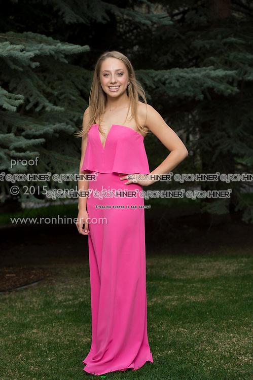 Vail Mountain School Prom Night; Audrey Deighan