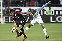 Joao Miranda-Leonardo Pavoletti<br /> Cagliari 25-11-2017 Sardegna Arena Football Calcio Serie A 2017/2018 Cagliari - Inter Foto Daniele Buffa / Image / Insidefoto