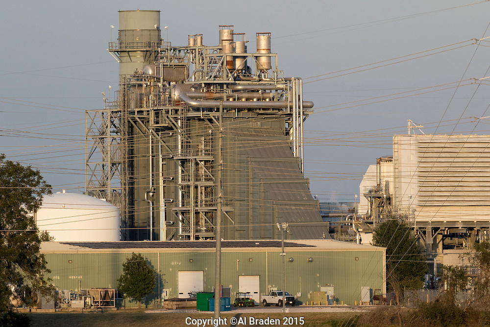 Sand Hill combined cycle natural gas power plant owned by Austin Energy
