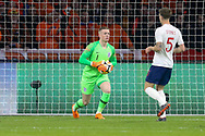 England goalkeeper Jordan Pickford during the Friendly match between Netherlands and England at the Amsterdam Arena, Amsterdam, Netherlands on 23 March 2018. Picture by Phil Duncan.