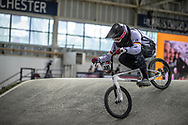 #400 (JACKEL Marco) GER at Round 2 of the 2019 UCI BMX Supercross World Cup in Manchester, Great Britain
