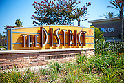 Monument and Signage for The District at Tustin Legacy