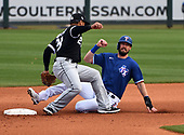 MLB-Chicago White Sox at Texas Rangers-Mar 12, 2021