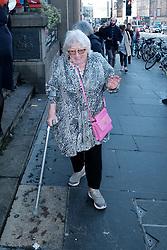Edinburgh International Film Festival 2019<br /> <br /> Hurt By Paradise (World Premiere)<br /> <br /> Stars and guests arrive on the red carpet for the world premiere<br /> <br /> Pictured: Veronica Clifford <br /> <br /> Alex Todd   Edinburgh Elite media