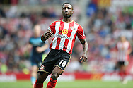 Sunderland forward Jermain Defoe (18)  during the Premier League match between Sunderland and Middlesbrough at the Stadium Of Light, Sunderland, England on 21 August 2016. Photo by Simon Davies.