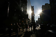 Sunday January 20th 2008..New York, New York.In the Street.Broadway and Houston Street