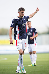 Falkirk's Owain Tudor Jones.<br /> Falkirk 1 v 1 Queen of the South, Scottish Championship game played today at The Falkirk Stadium.