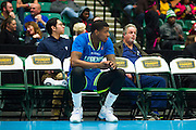 Ricky Ledo (7) of the Texas Legends sits on the bench against the Los Angeles D-Fenders on Friday, January 9, 2015 at the Dr. Pepper Arena in Frisco, Texas. (Cooper Neill/Special Contributor)