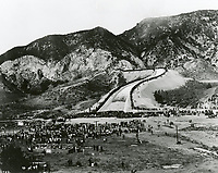 11/4/1913 Opening of the Los Angeles Aqueduct at Newhall spillway