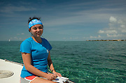 Cecilia guerrero<br /> MAR Alliance Staff<br /> Hol Chan Marine Reserve<br /> Ambergris Caye<br /> Belize<br /> Central America