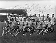 All Ireland Senior Hurling Championship Final, .Waterford v Kilkenny (draw), ..Waterford Team..06.08.1959, 08.06.1959, 6th August 1959, .