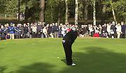19/10/2003 - Photo  Peter Spurrier.2003 HSBC World Match Play Championship - Wentworth.Sunday - Final Day- Ernie Els v Thomas Bjorn:.Thomas Bjorn, putting. .......[Mandatory Credit Peter Spurrier/ Intersport Images]
