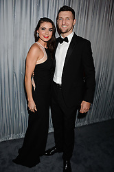 CARL FROCH and RACHAEL CORDINGLEY at the GQ Men of The Year Awards 2013 in association with Hugo Boss held at the Royal Opera House, London on 3rd September 2013.