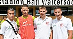 30.07.2010, Thermenstadion, Bad Waltersdorf, AUT, Trainingslager Werder Bremen 1. FBL 2010 - Day03 im grosser Tag fuer die Mannschaft des Favoritner Athleitkclub Wien ( 4. Oesterreischische Liga ) die z.Zt. in Pinkafeld  ihr Trainingslager ahalten, beuschten am vormittag die MANNSCHAFT  des SV Werder Bremen und liessen sich mit ihnen ablichten, hier Marko Arnautovic (Werder #07 )     EXPA Pictures © 2010, PhotoCredit: EXPA/ nph/  Kokenge+++++ ATTENTION - OUT OF GER +++++ / SPORTIDA PHOTO AGENCY