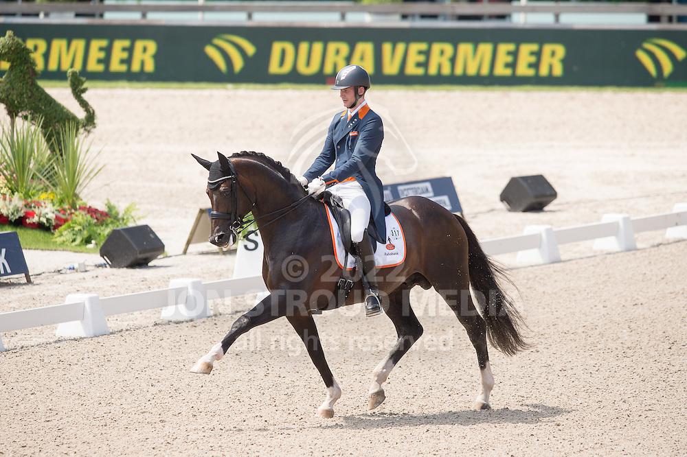 Diederik van Silfhout (NED) & Arlando NOP - Dressage Grand Prix - CDIO5 - CHIO Rotterdam 2016 - Kralingse Bos, Rotterdam, Netherlands - 23 June 2016