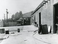 1914 Inside the Selig Polyscope Studio on Allesandro St. in Edendale