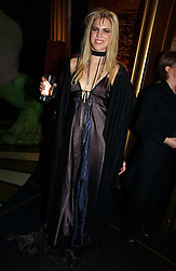 ALEXANDRA AITKEN at Andy & Patti Wong's annual Chinese New year Party, this year to celebrate the Year of The Pig, held at Madame Tussauds, Marylebone Road, London on 27th January 2007.<br /><br />NON EXCLUSIVE - WORLD RIGHTS
