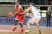Jarrod Jones<br /> Red October Cantu' - Consultinvest Pesaro<br /> LegaBasket 2016/2017<br /> Desio 13/10/2016<br /> Foto Ciamillo-Castoria