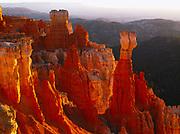 Agua Canyon at Sunrise, Bryce Canyon National Park, Utah.