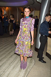 ROSANNA FALCONER at a party to celebrate the 10th anniversary of Nobu Berkeley Street held on 5th November 2015.