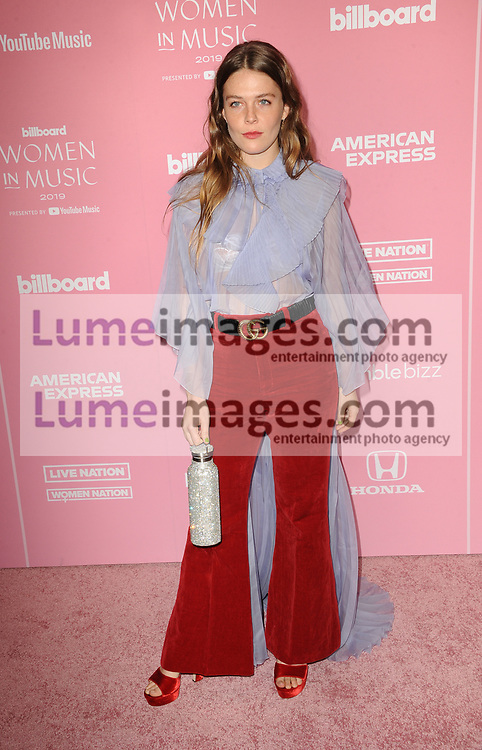 Maggie Rogers at the 2019 Billboard Women In Music held at the Hollywood Palladium in Hollywood, USA on December 12, 2019.